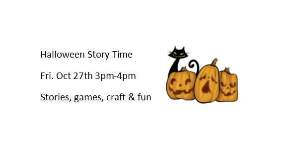 Halloween Story Time