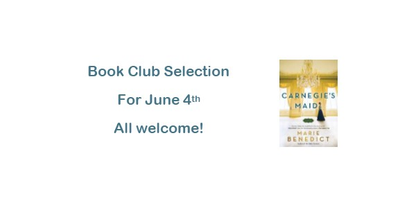 Book Club June 4th