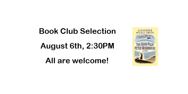 Book Club August 6th