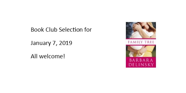 Book Club January 7th