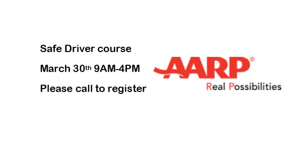 Spring Safe Driver Class coming soon