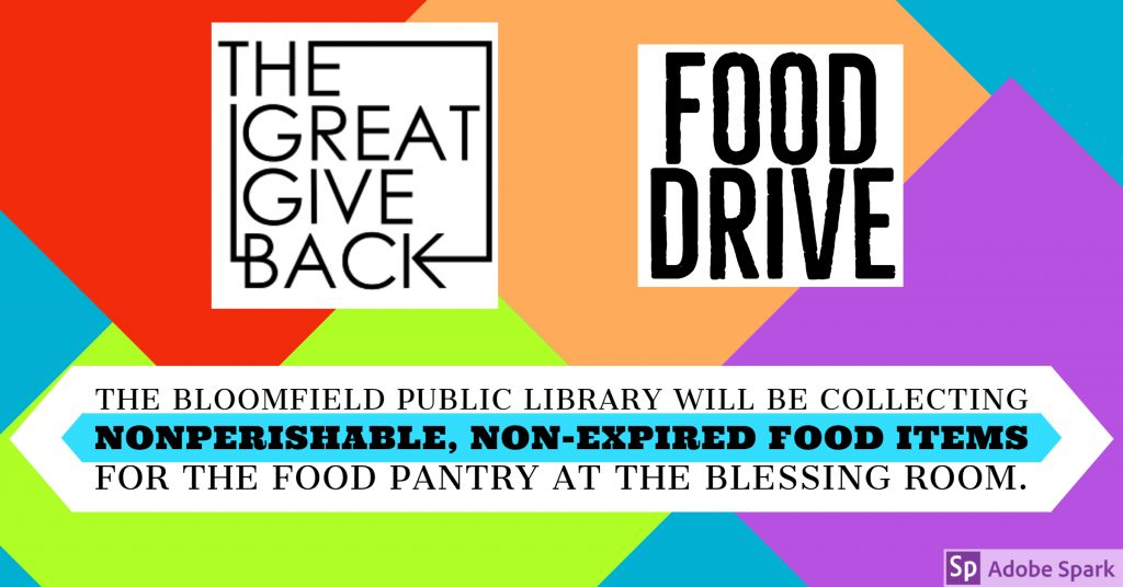 The Great Give Back: Food Drive