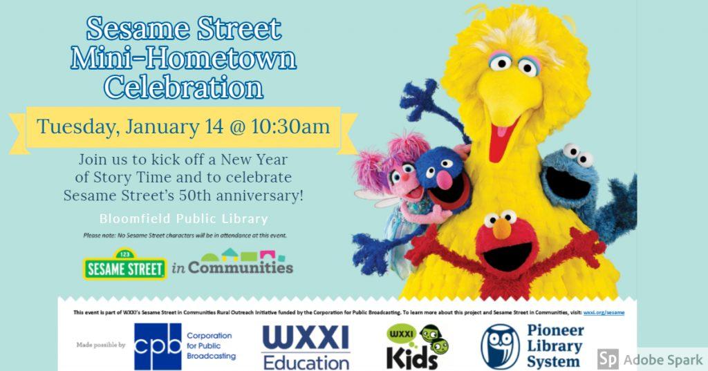 Sesame Street Mini-Hometown Celebration