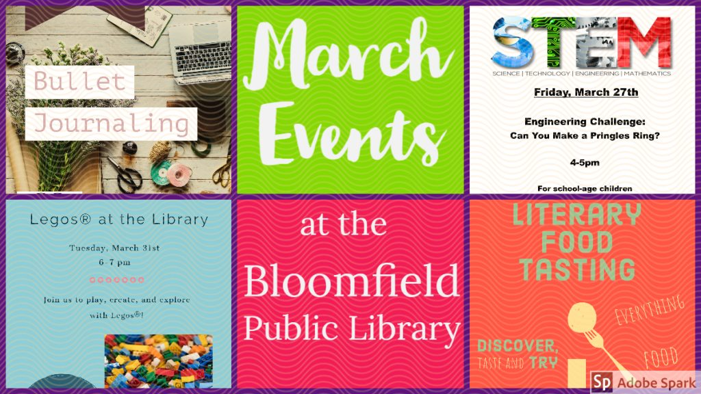 March Library Events