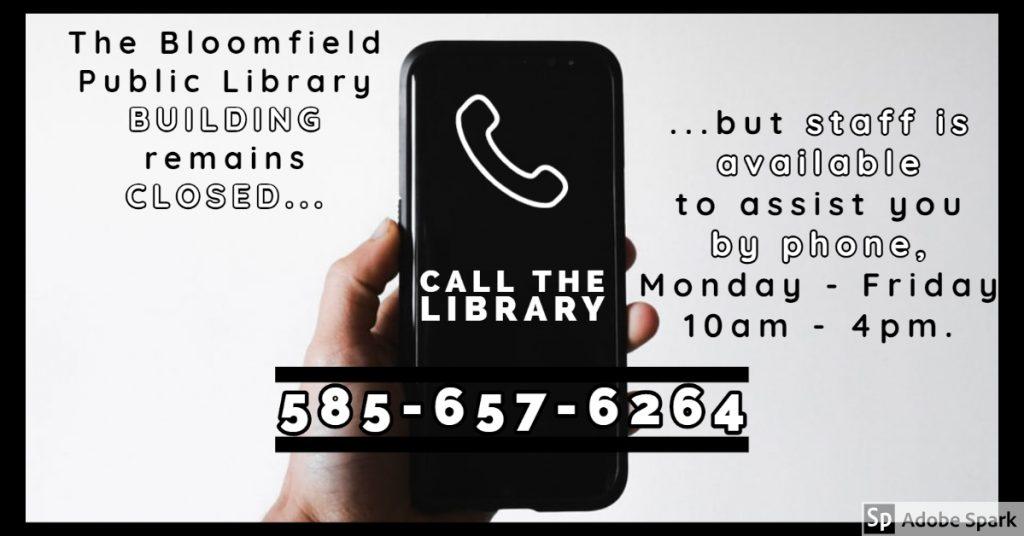 Library staff is still